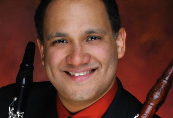 Clarinetist Ricardo Morales