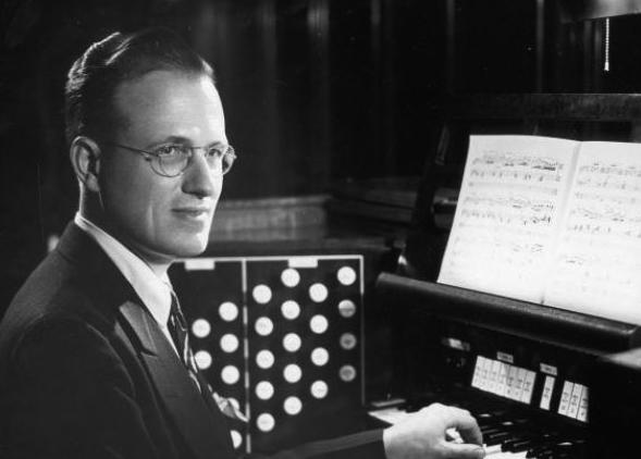 Organist and composer Robert Elmore