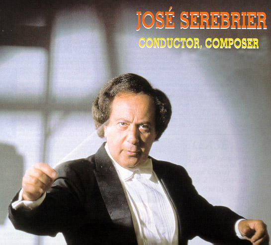 Composer and conductor Jose Serebrier