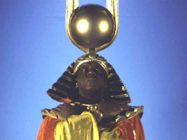 """Cosmic"" jazz musician and composer Sun Ra"