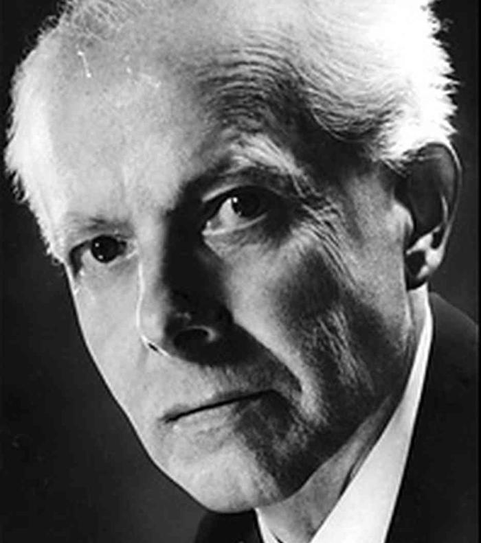 Hungarian composer and pianist Bela Bartok (1881-1945)