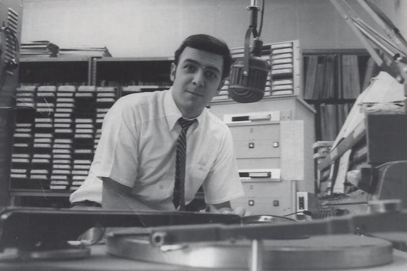Bob's first program director gig at WICH, in Norwich, CT, 1968
