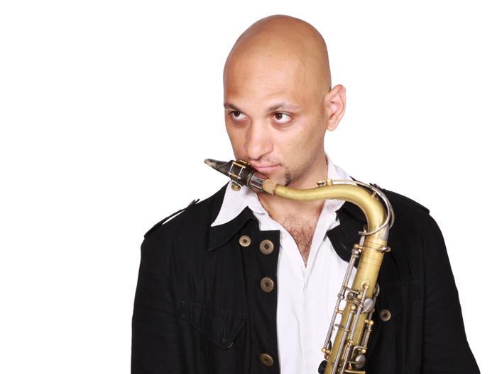 Israeli jazz saxophonist Eli Degibri