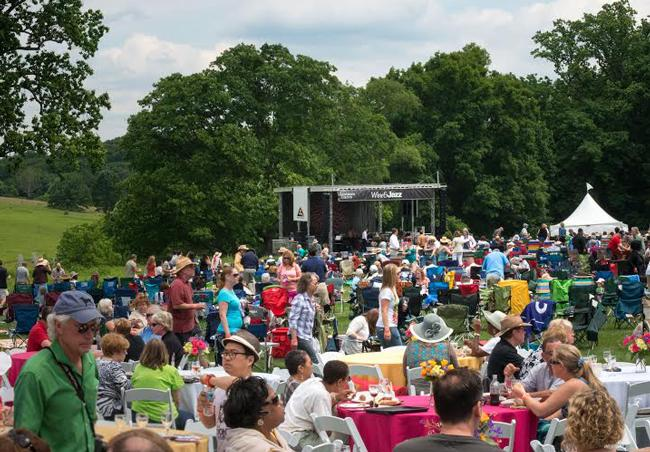 This year's Wine & Jazz Festival is expanding to a garden-wide experience with live jazz performances on multiple stages throughout Longwood Gardens.