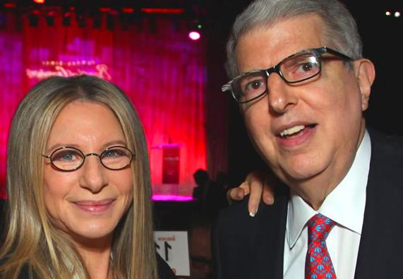 Barbara Streisand and Marvin Hamlisch
