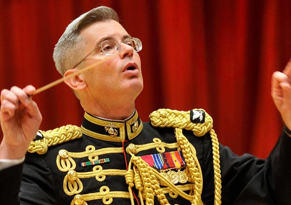 Michael J. Colburn has been the director of the United States Marine Band since 2004.