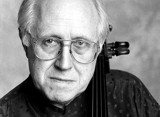 Russian cellist Mstislav Rostropovich (1927-2007)