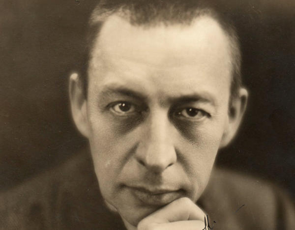 Composer, pianist, and conductor Sergei Rachmaninoff (1873-1943)