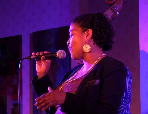 Vocalist Rhenda Fearrington