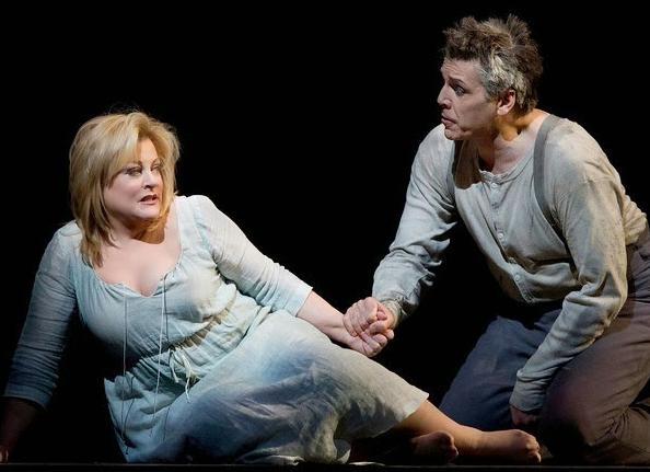 Soprano Deborah Voigt sings Marie, and baritone Thomas Hampson sings the title role in Berg's WOZZECK.
