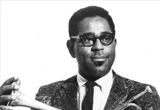 Trumpeter Dizzy Gillespie (1917-1993)