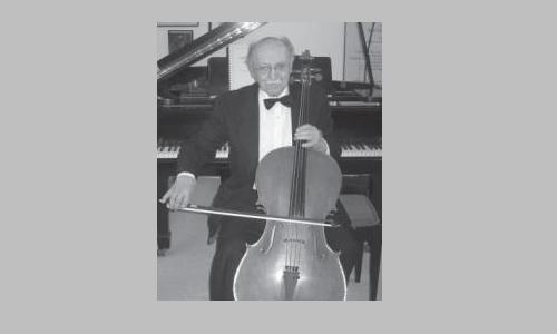 Cellist and composer Marcel Farago