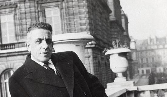 French composer Francis Poulenc (1899-1963)