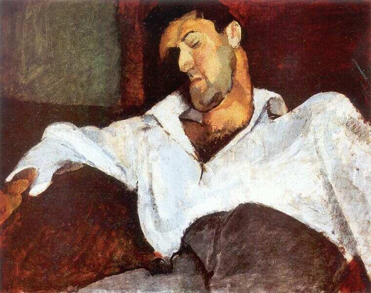"""Leo Weiner, 1911"" by Róbert Berény"