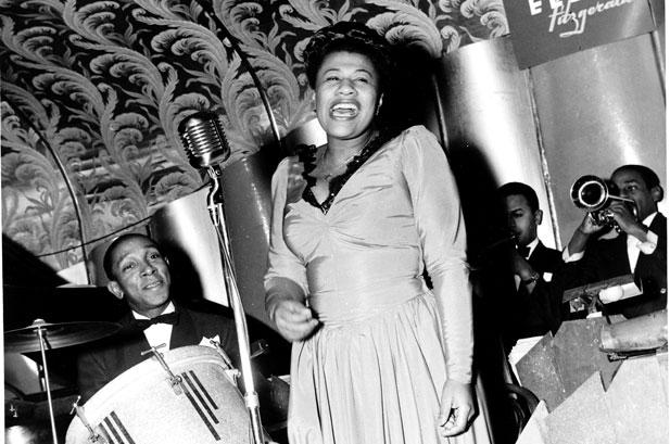 Jazz icon Ella Fitzgerald (1917 to 1996)