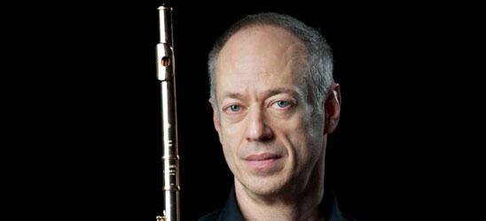 Flutist Jeffrey Khaner