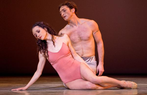 Pennsylvania Ballet Principal Dancers Julie Diana and Zachary Hench in AFTER THE RAIN