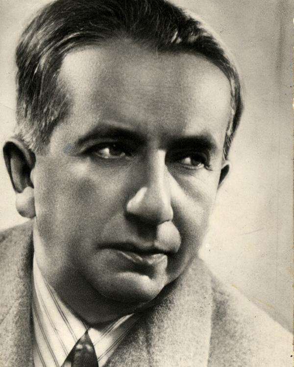 Italian composer, pianist, and conductor Alfredo Casella (1883 - 1947)