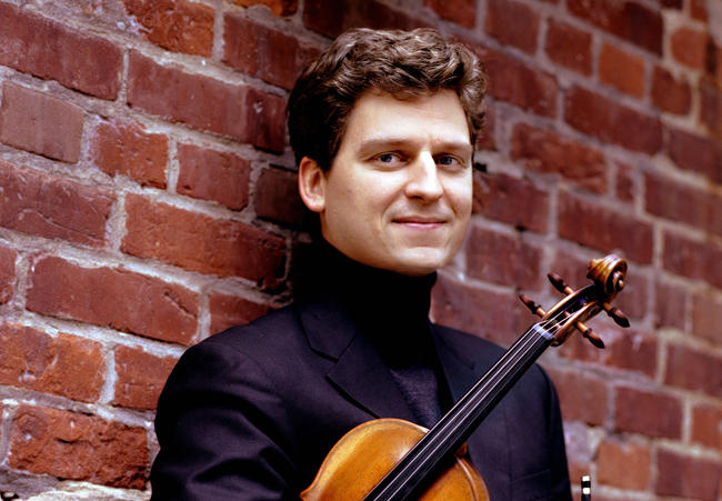 "Canadian violinist James Ehnes is a Grammy winner and a Juilliard graduate. He plays the ""Marsick"" Stradivarius of 1715."