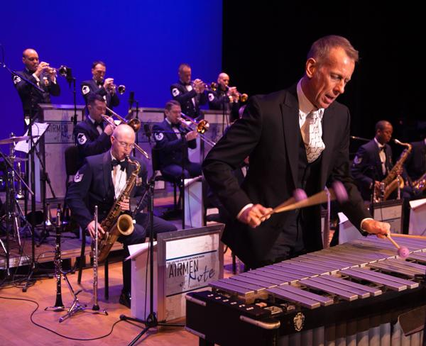 Vibraphonist Joe Locke performs with the Airmen of Note on WRTI, Sunday, May 25 at 9 pm.