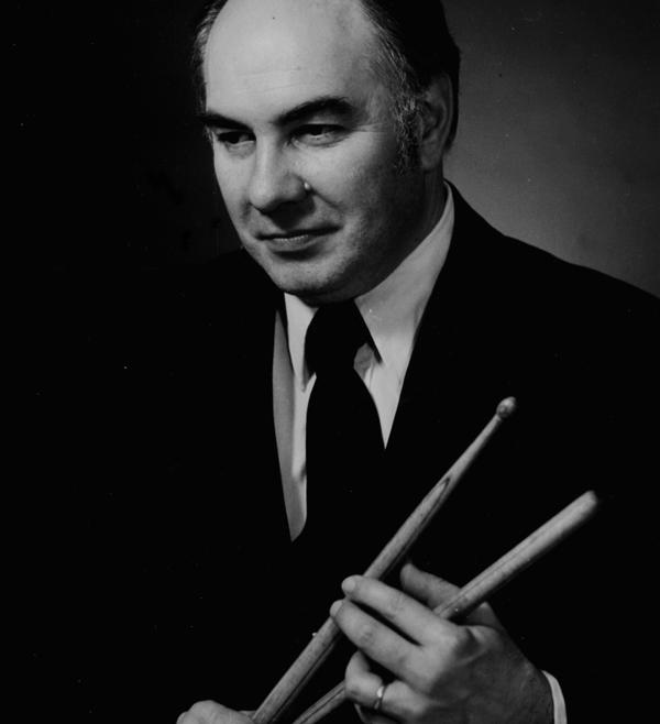 Percussionist Alan Abel
