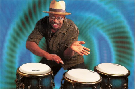 Master percussionist Doc Gibbs