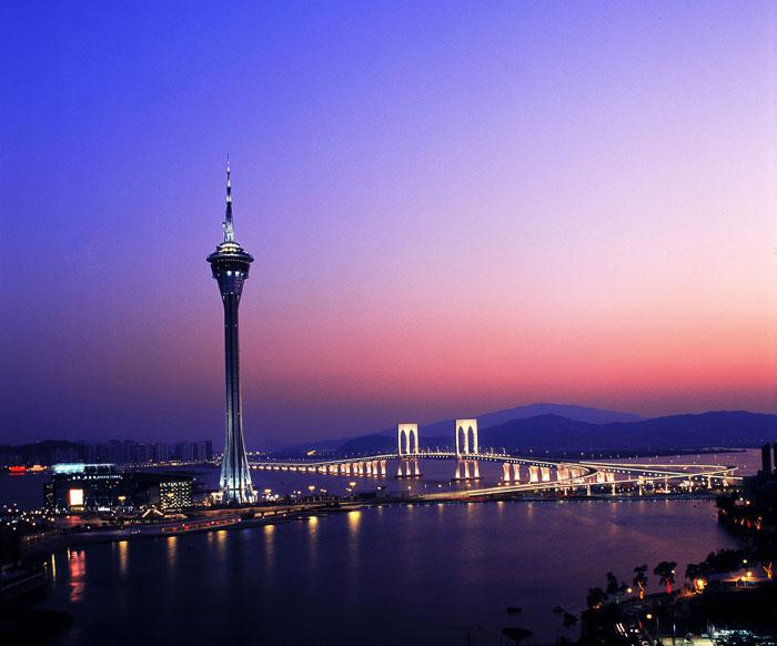 A a handful of musicians bunjee jumped off Macau Tower, which claims to be the world's highest bungee jump.