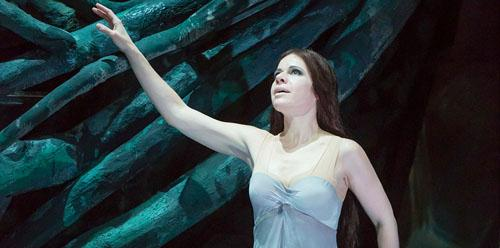 Soprano Ana Maria Martinez sings the title role in Dvorak's RUSALKA.