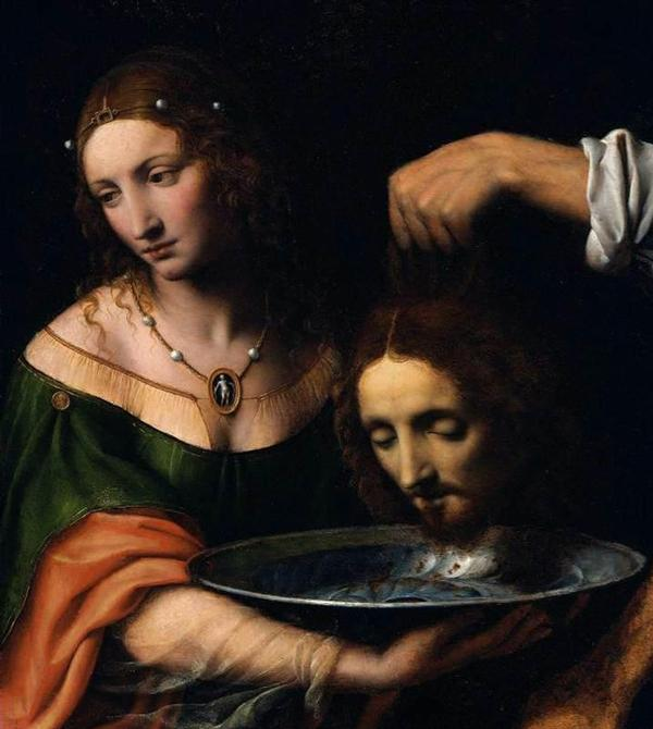 In Richard Strauss' SALOME, the character depicting John the Baptist is beheaded after he refuses the advances of Salome.