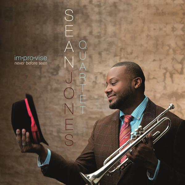 Sean Jones' uniquely titled seventh album, im.pro.vise never before seen, reunites Jones with longtime friends and self-assured improvisers—pianist Orrin Evans, bassist Lucques Curtis and Obed Calvaire on drums.