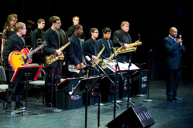 Terell Stafford leads the Temple University Jazz Band