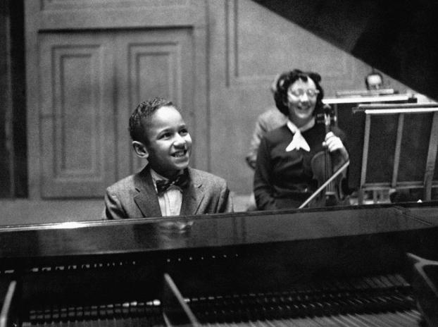 Guess who? It's André Watts, age 10, at his student concert debut with The Philadelphia Orchestra  in 1957.