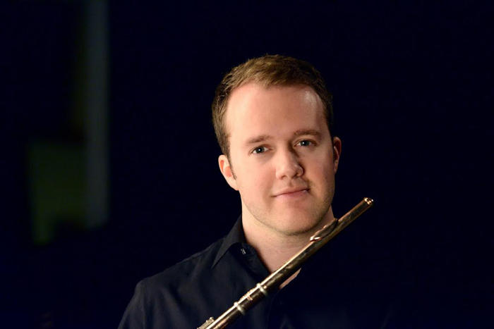 Flutist Patrick Williams