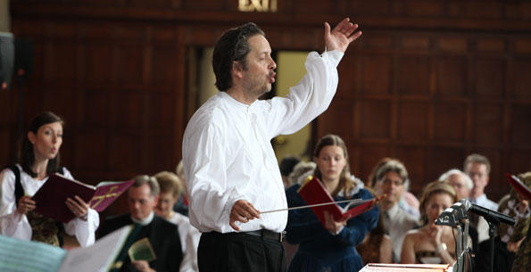 Valentin Radu is artitsic director and conductor of the Philadelphia-based ensemble Vox Ama Deus.