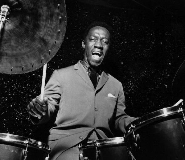Drummer and bandleader Art Blakey