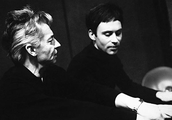 Herbert von Karajan, Christoph Eschenbach
