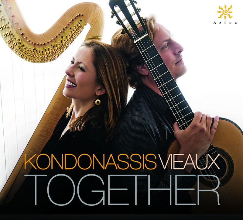 Yolanda Kondonassis and guitarist Jason Vieaux