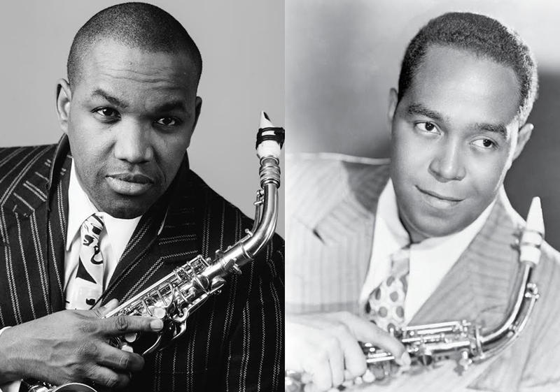 Tenor Lawrence Brownlee (at left) sings the role of Charlie Parker in Opera Philadelphia's CHARLIE PARKER'S YARDBIRD, June 5 to 14 at the Perelman Theater.
