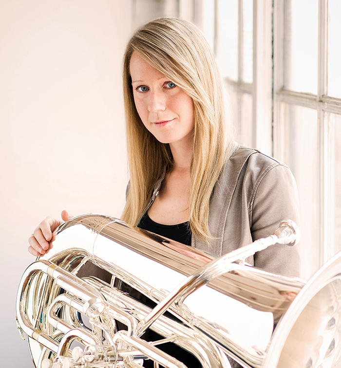 Carol Jantsch is prinicpial tuba player for The Philadelphia Orchestra.