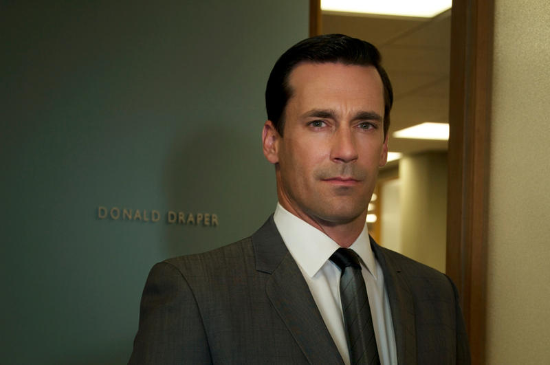 Jon Hamm as Donald Draper