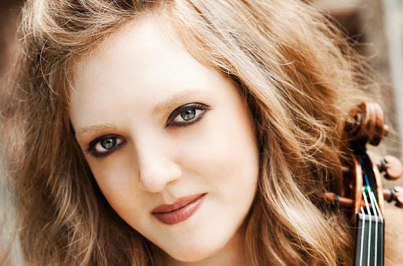 Violinist Rachel Barton Pine