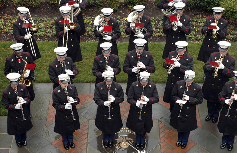 "Established by an Act of Congress in 1798, the United States Marine Band - ""The President's Own"" - is America's oldest professional musical organization."