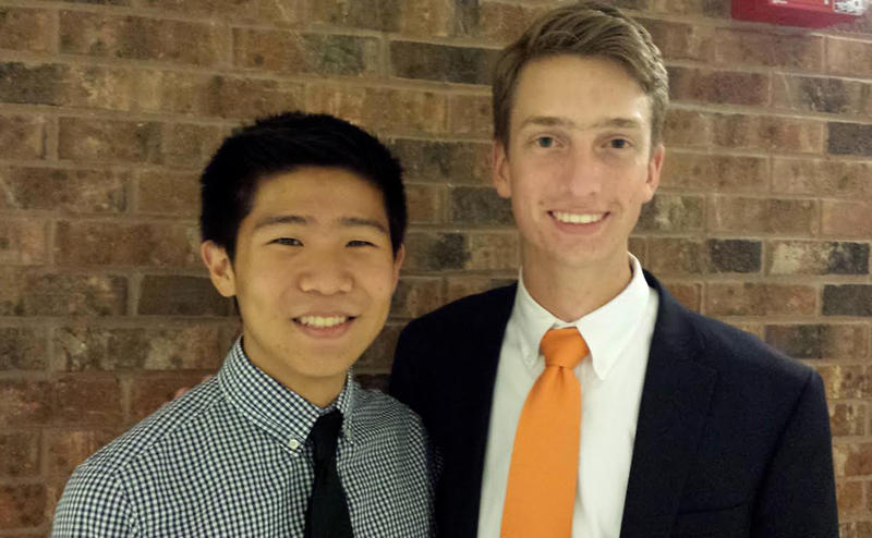 This is Jack (left) and Drew (right) from Ambler, PA.  Drew has nominated Jack to become a member of the Sousalarm Club and he will be inducted very soon.