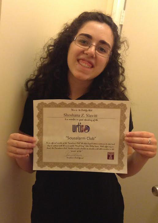 This is Shoshana, the author of this post, from Merion Station, PA.  She is so proud to be a member that she had to write about it!