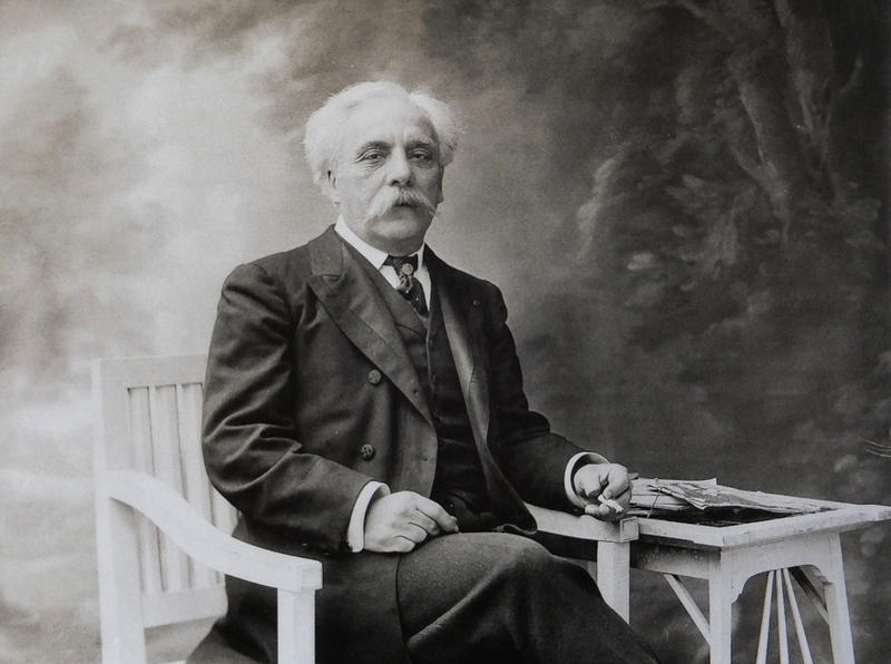 French composer Gabriel Faure (1845-1924)