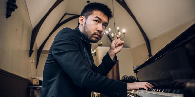 Pianist and composer Conrad Tao