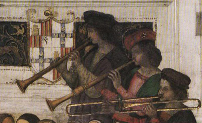 Philadelphia-based Piffaro, The Renaissance Band, recreates the rustic music of the peasantry and the elegant sounds of the official wind bands of the late Medieval and Renaissance periods.