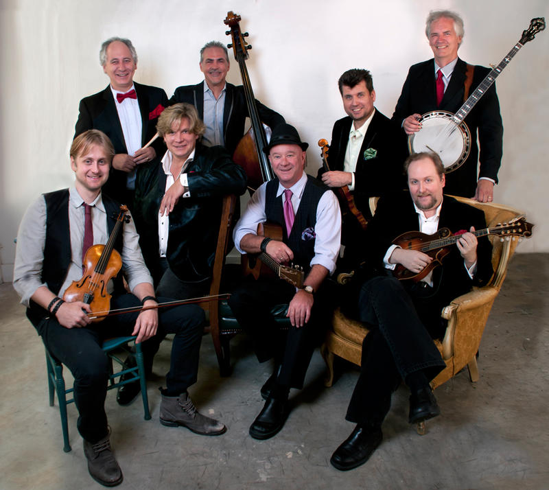 The DePue Brothers Band plays a blend of classical, bluegrass, jazz, pop, and American roots music.