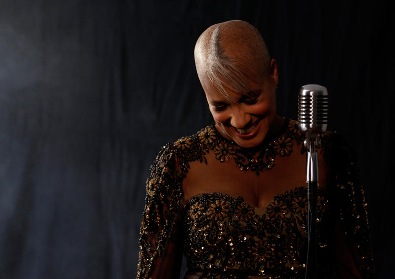 Jazz singer René Marie was nominated for a 2014 Grammy Award for her album, 'I Wanna Be Evil: With Love to Eartha Kitt.'