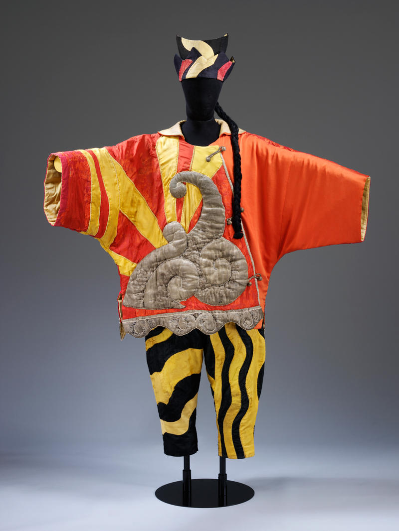 Pablo Picasso (Spanish, 1881 - 1973), Costume for the Chinese Conjuror from Parade , 1917. Silk satin fabric with silver tissue. 65 5/16 × 59 1/16 × 19 11/16 in. (176 × 150 × 50 cm)  Victoria and Albert Museum, London, Museum no. S.84&A&B-1985.